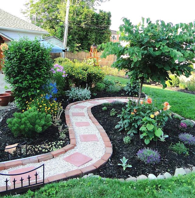 Paysagiste Comment réaliser une cour et une allée de jardin ? - tel ...